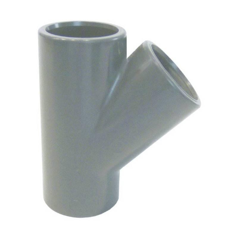 Teu PVC-U, D75, 45 grade  de la Coraplax referinta 7111075