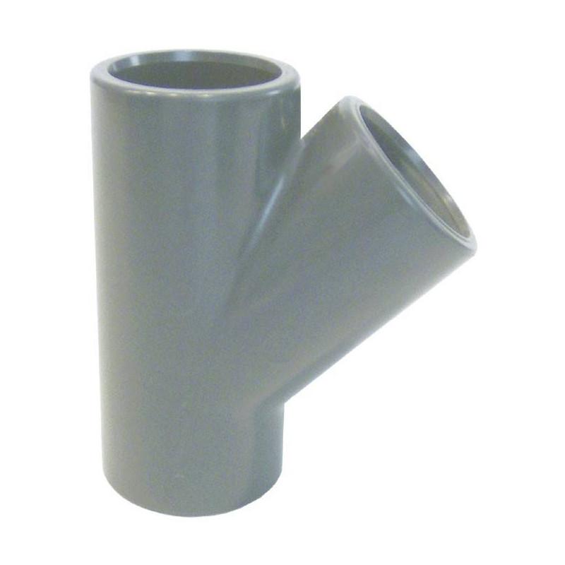 Teu PVC-U, D20, 45 grade  de la Coraplax referinta 7111020