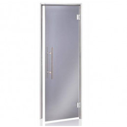 Usa premium baie aburi sticla gri 7 x 20  de la  referinta HS-720H-P
