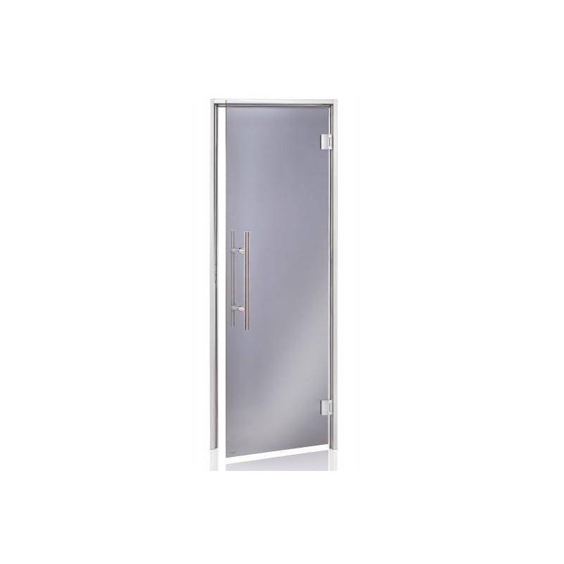 Usa premium baie aburi sticla gri 7 x 20  de la SpaZone referinta HS-720H-P