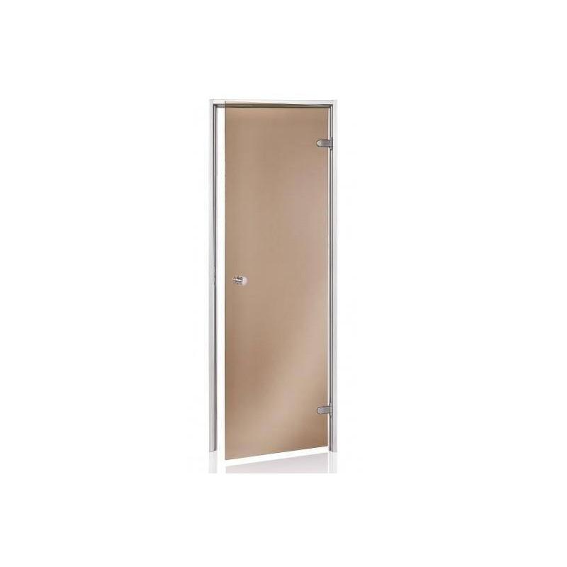 Usa baie aburi sticla bronz 8 x 19  de la SpaZone referinta HS-819P