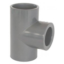 Teu redus PVC-U, D75-32, 90 grade  de la Coraplax referinta 7104072