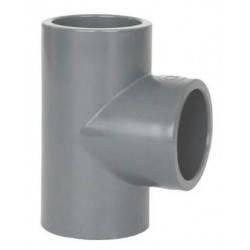 Teu PVC-U, D90, 90 grade  de la Coraplax referinta 7103090