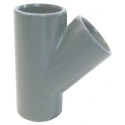 Teu PVC-U, D90, 45 grade  de la Coraplax referinta 7111090