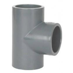 Teu PVC-U, D225, 90 grade  de la Coraplax referinta 7103225