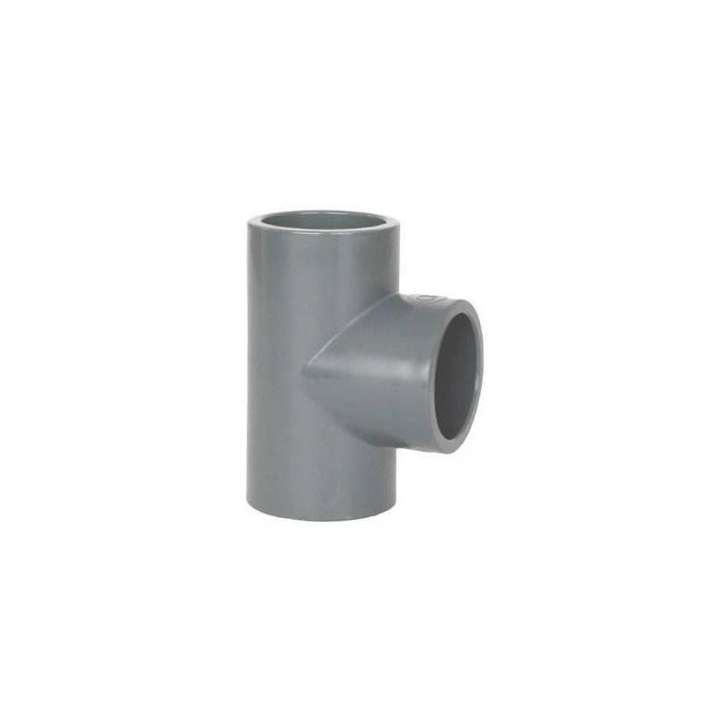 Teu PVC-U, D125, 90 grade  de la Coraplax referinta 7103125
