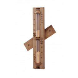 Clepsidra din lemn de cedru rosu  de la Sentiotec referinta 1-028-015