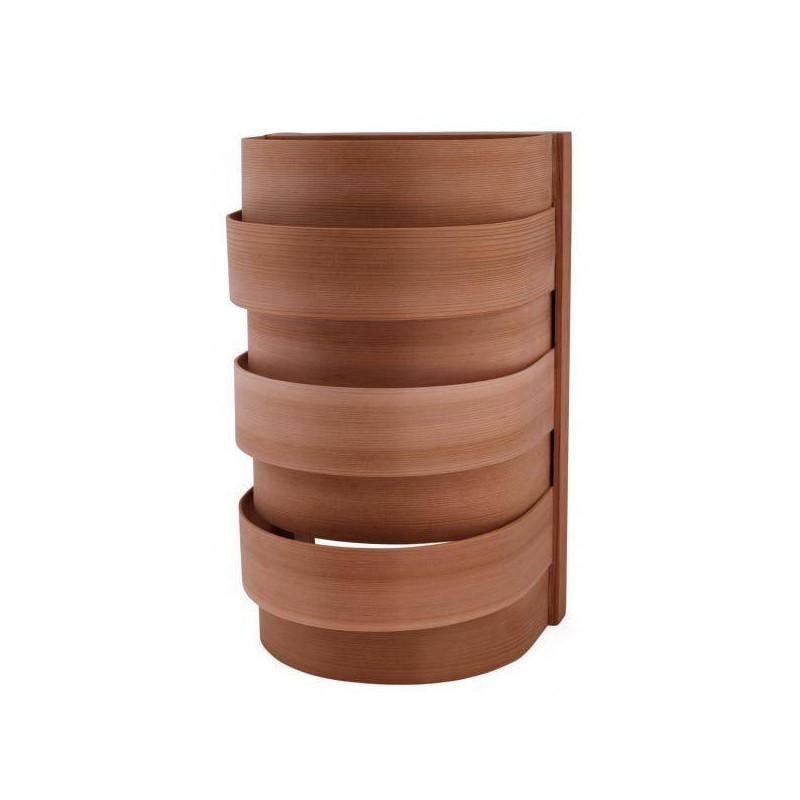 Abajur din cedru pentru sauna  de la Sentiotec referinta 1-028-060