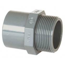 "Niplu mixt PVC D20/25-3/4"""