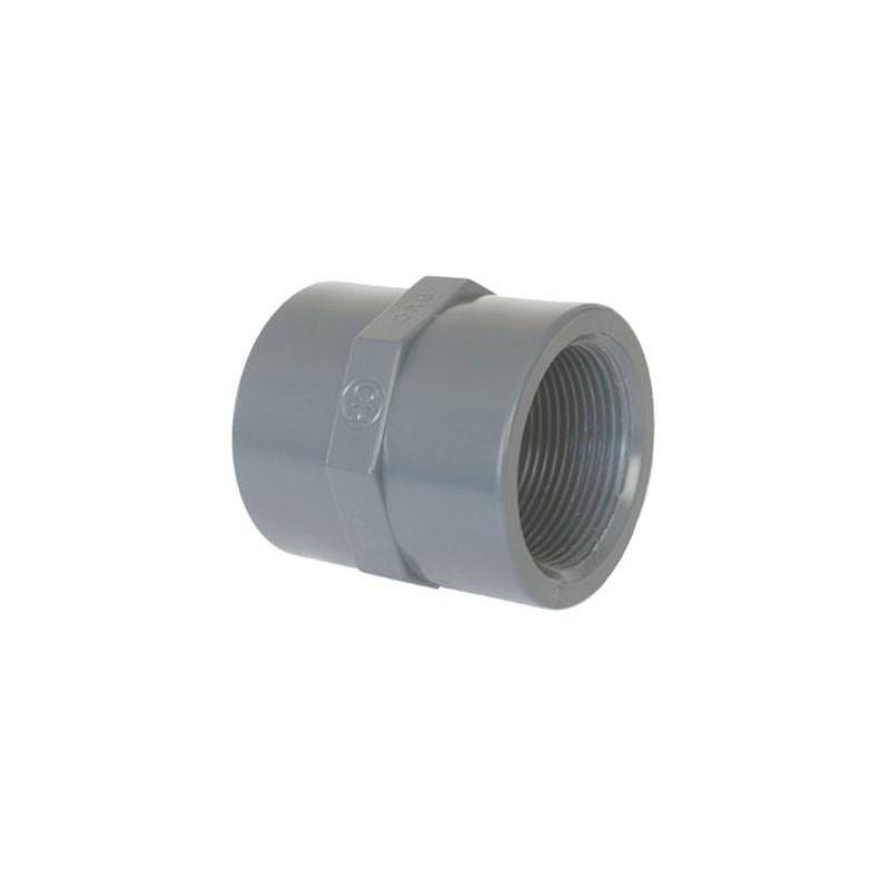 """Mufa mixta PVC D50-1 1/2"""" F.I. Coraplax  de la Coraplax referinta 7305050"""
