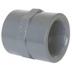 """Mufa mixta PVC D40-1 1/4"""" F.I.  de la Coraplax referinta 7305040"""