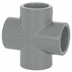 Cruce PVC D63