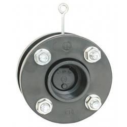 Clapeta sens PVC cu flanse D125  de la Coraplax referinta 2730125