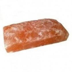 Caramida de sare Himalaya pentru sauna - pe o parte nefinisata  de la  referinta SZ1R