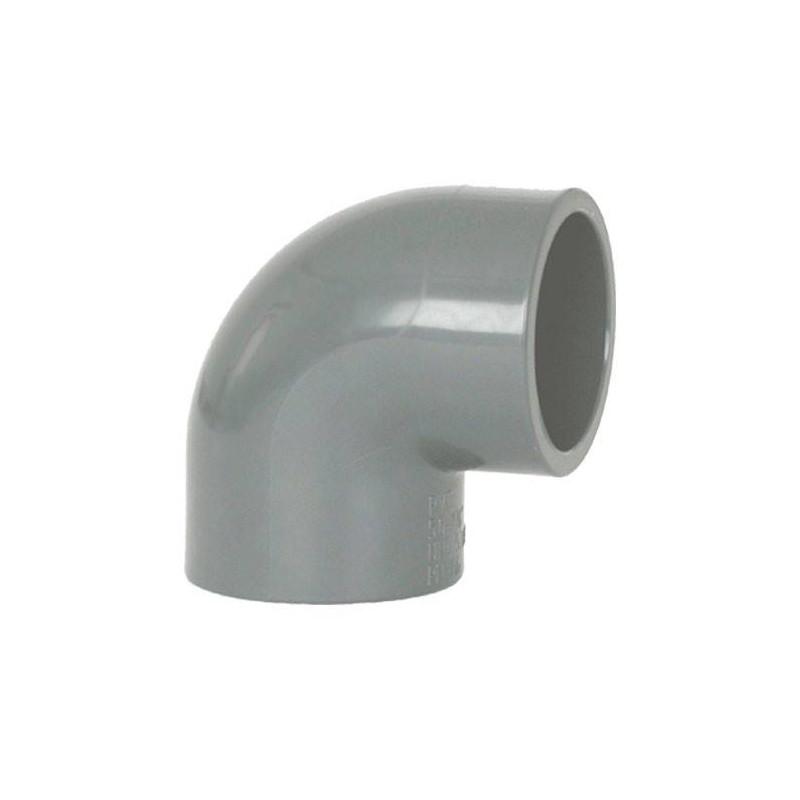 Cot PVC D50, 90 grade  de la Coraplax referinta 7101050