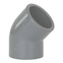 Cot PVC D125, 45 grade  de la Coraplax referinta 7102125