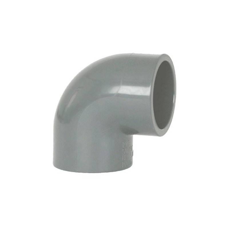 Cot PVC D75, 90 grade  de la Coraplax referinta 7101075