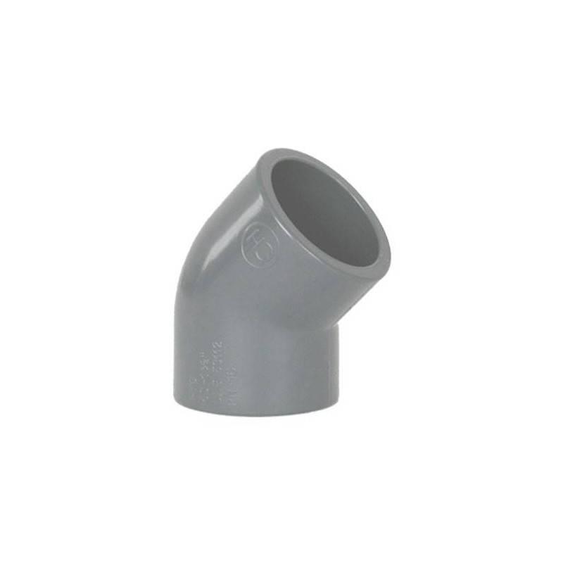 Cot PVC, D90, 45 grade  de la Coraplax referinta 7102090