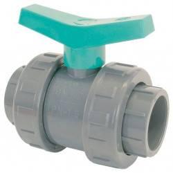 Robinet PVC cu sfera D20  de la Coraplax referinta 1010020