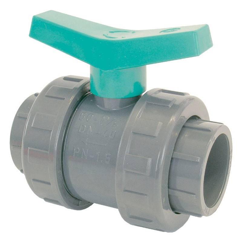 Robinet PVC cu sfera D90  de la Coraplax referinta 1010090