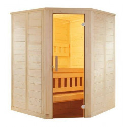 Cabina colt sauna uscata Wellfun 204x204cm  de la Sentiotec referinta 1-030-303