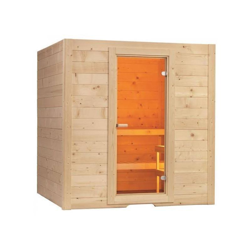 Cabina Sauna Uscata Basic 195x156cm - Cabina-sauna
