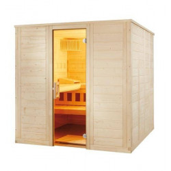 Cabina sauna uscata Wellfun 204x204cm  de la Sentiotec referinta 1-030-302