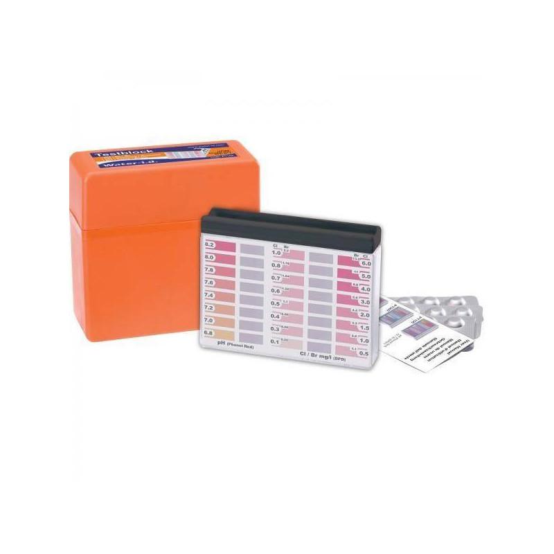 Tester apa piscina pH / Clor / Brom 10ml  de la Water-I.D. referinta PT100