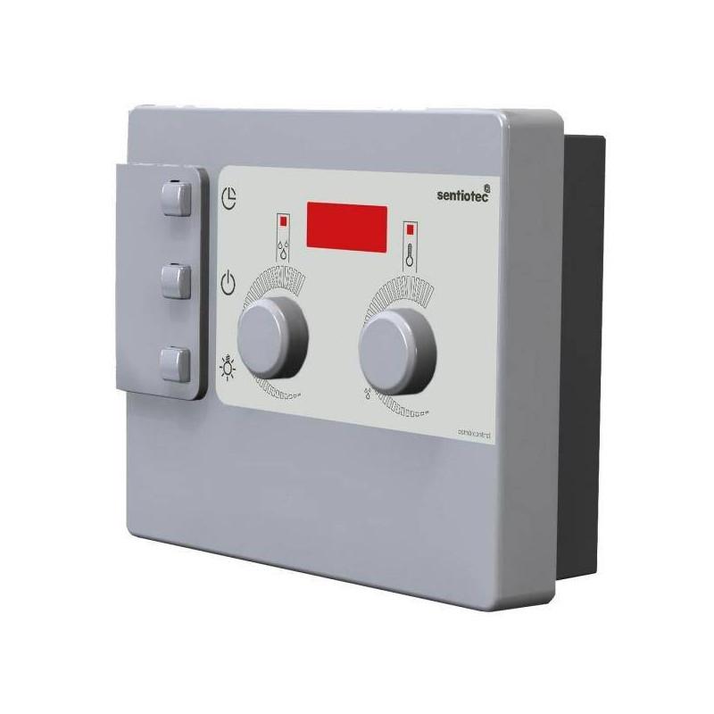 Panou control DC9 sauna Combicontrol  de la Sentiotec referinta 1-011-825