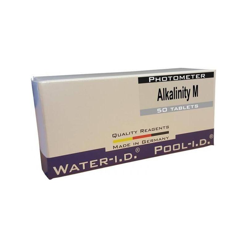 Tablete reactivi Alcalinitate-M, tester fotometru, 50 bucati  de la Water-I.D. referinta TbsPTA50