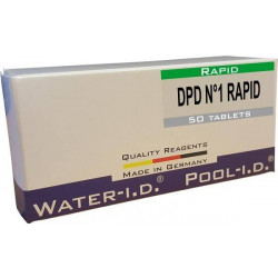 Tablete reactivi clor liber DPD1, efervescent rapid, 50 bucati  de la Water-I.D. referinta TbsRD150