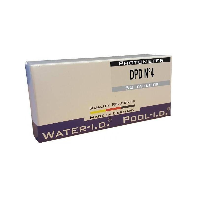 Tablete reactivi oxigen activ DPD4, fotometru, 50 bucati  de la Water-I.D. referinta TbsPD450