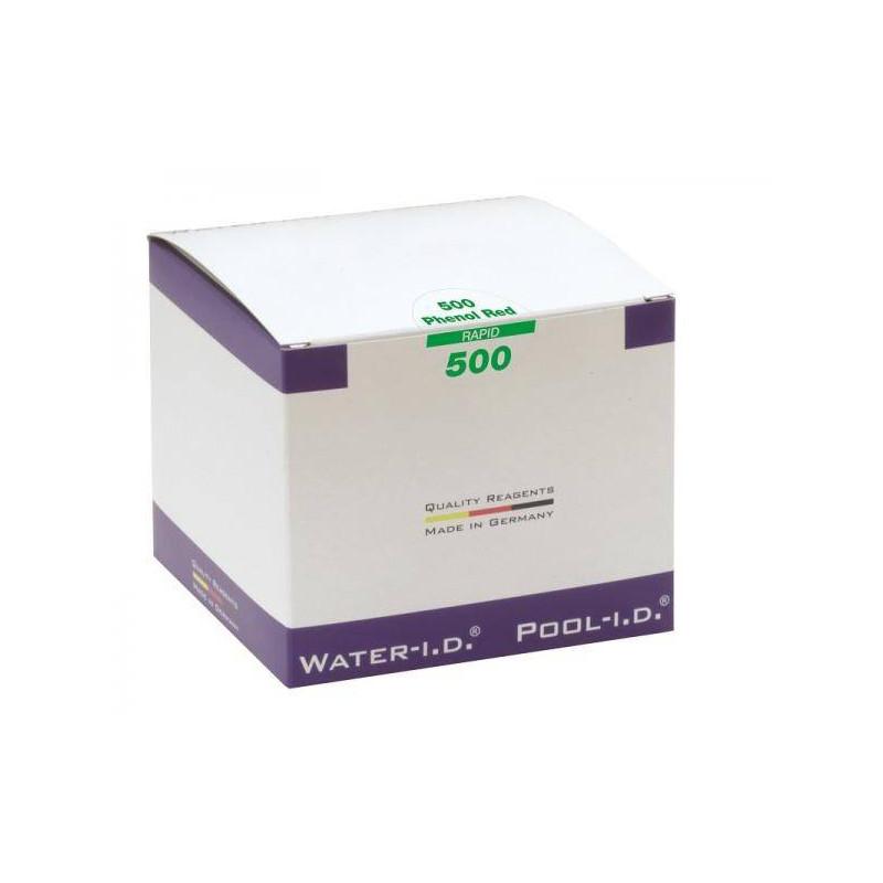 Tablete reactivi pH Phenol-Red, fotometru, 500 bucati  de la Water-I.D. referinta TbsPpH500