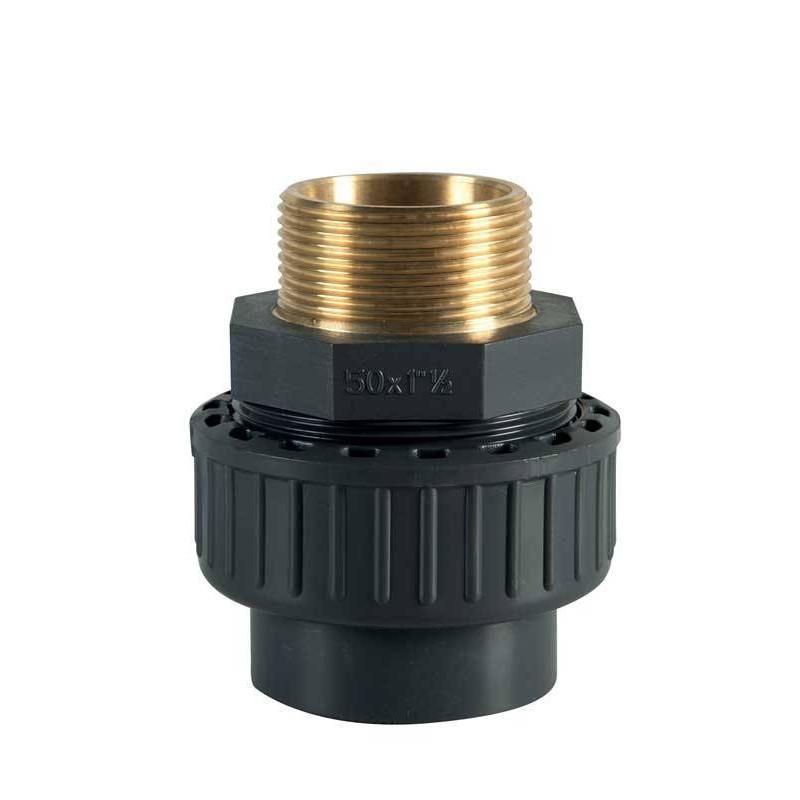 """Holender PVC-Metal D50-1 1/2"""" F.E.  de la Plimat referinta RUM50MPLT"""
