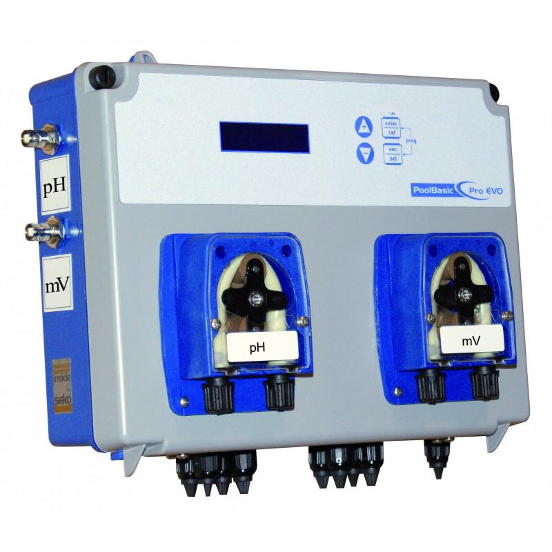 Sistem PoolBasic Pro pH/H2O2, 1,5 l/h  de la Seko referinta SPMBASPA0023