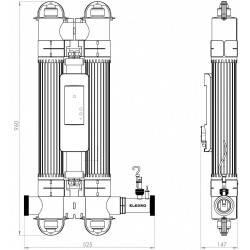 Sistem tratare lampa UV Quantum 130mc  de la Elecro Engineering referinta Q-130-EU