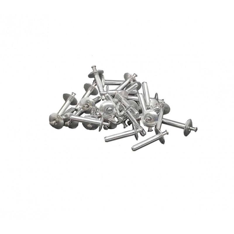 Cuie aluminiu expandabile 4.8x26mm  de la SopremaPool referinta RIVET2