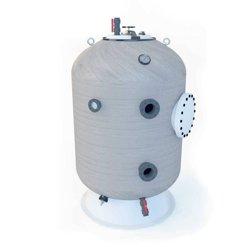 Filtru bobinat Fiberpool ITALY, D1800, conexiune 125mm  de la Hayward Commercial Aquatics referinta HCFH701254WVNMS