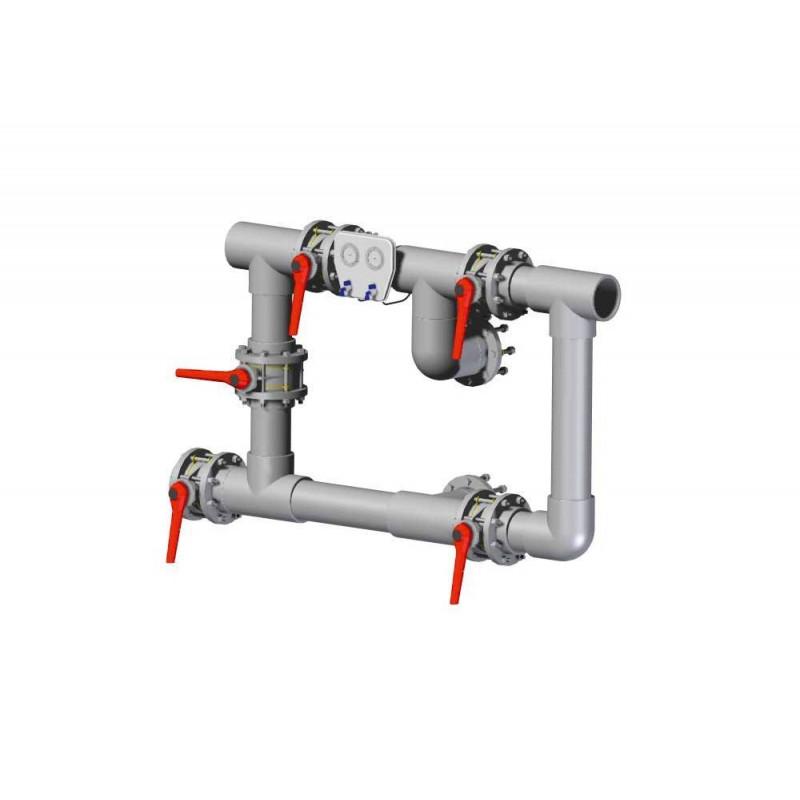 Baterie manifold D63 neasamblata  de la Hayward Commercial Aquatics referinta HCB634UN