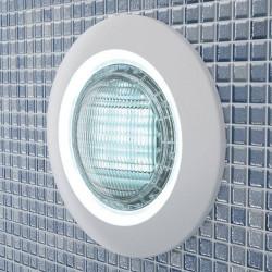 Proiector LED alb beton