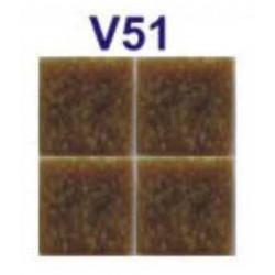 Mozaic sticla V51 suport hartie 20x20 cm  de la VetroGlassMosaic referinta V51