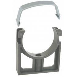 Brida PVC D50 cu clips