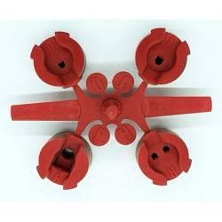 Duza MPR 25 Q/H/F 7.6m, rosu, aspersor rotativ 5000, 5000 plus, 30 buc  de la Rain Bird referinta Y04625