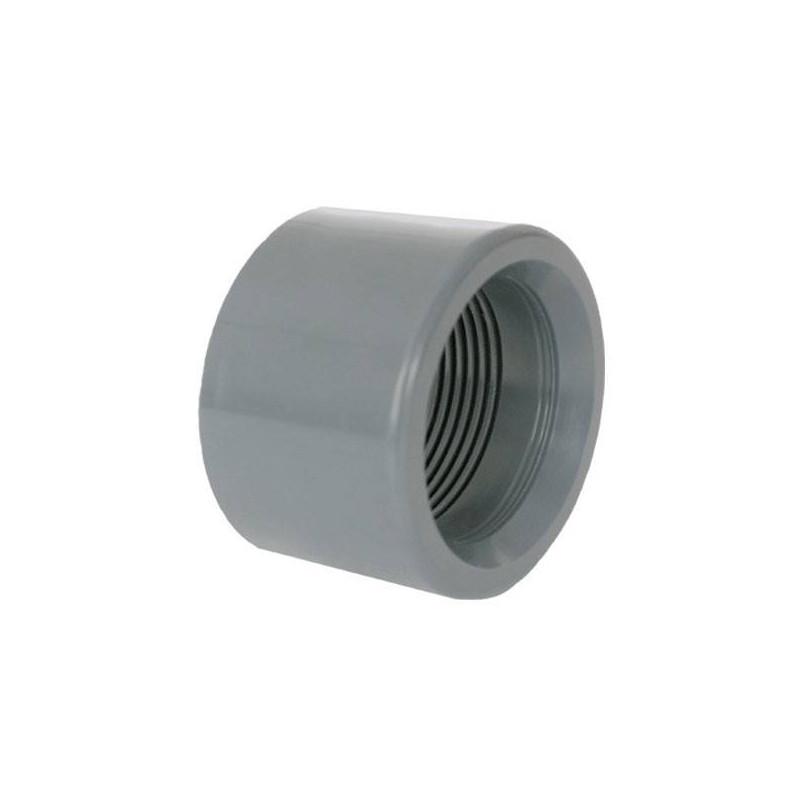 """Reductie PVC D63-1 1/2"""" F.I.  de la Coraplax referinta 7306063"""