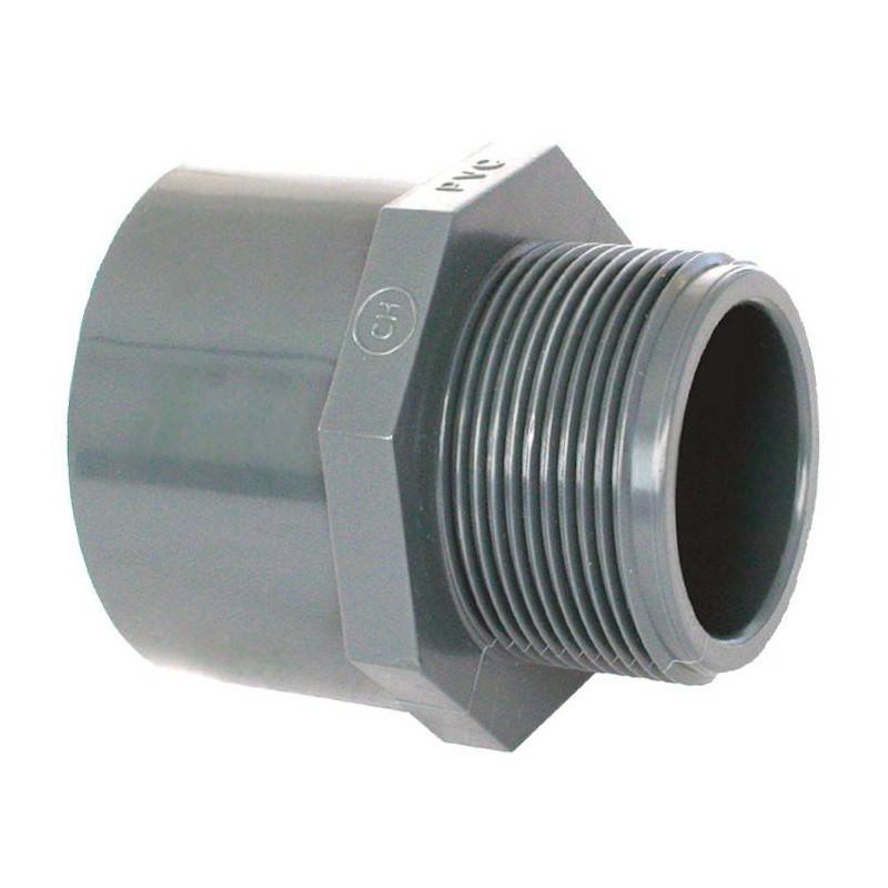 """Niplu mixt PVC D32/40-1"""" F.E.  de la Coraplax referinta 7308032"""