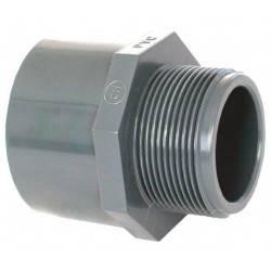 """Niplu mixt PVC D50/63-1 1/2"""" F.E.  de la Coraplax referinta 7308050"""