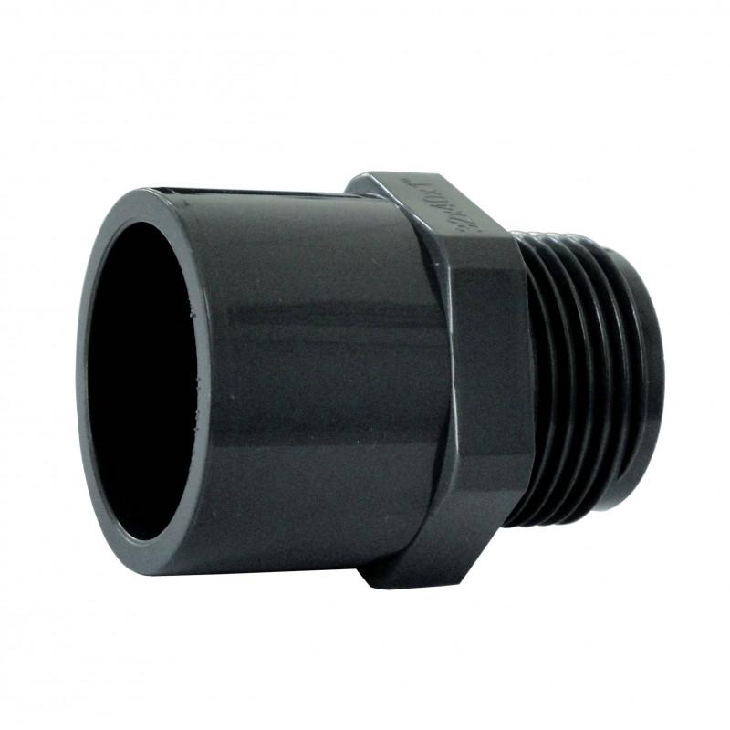 "Niplu mixt PVC D63-2"" F.E.  de la Plimat referinta EF63"