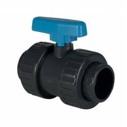 Robinet PVC cu sfera D20  de la Plimat referinta VAC20