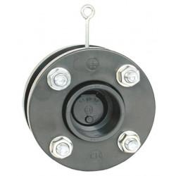 Clapeta sens PVC cu flanse D90  de la Coraplax referinta 2730090