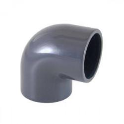 """Cot PVC D63x2"""" F.I., 90 grade  de la Cepex referinta 01733"""